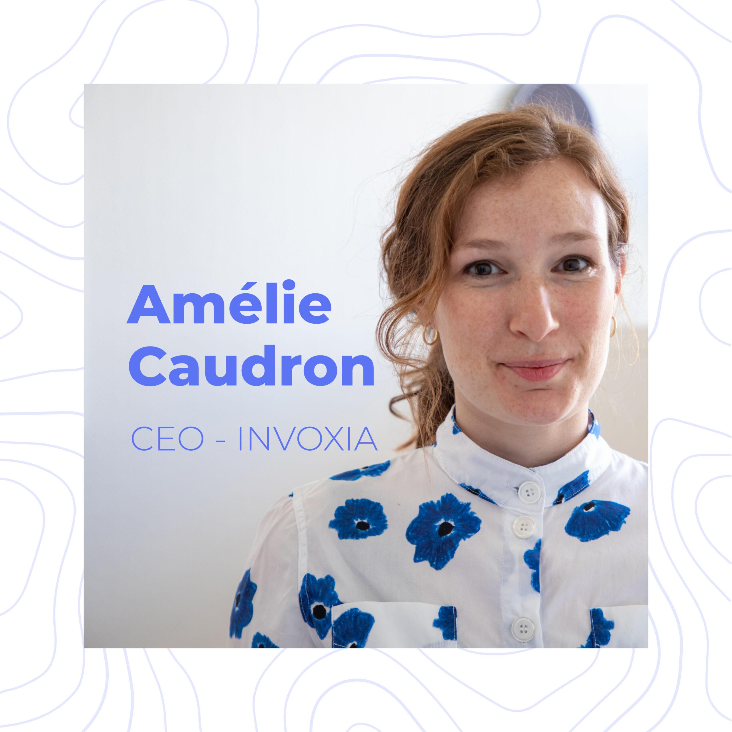 Journée Internationale des Droits des Femmes – Amélie Caudron, CEO d'Invoxia