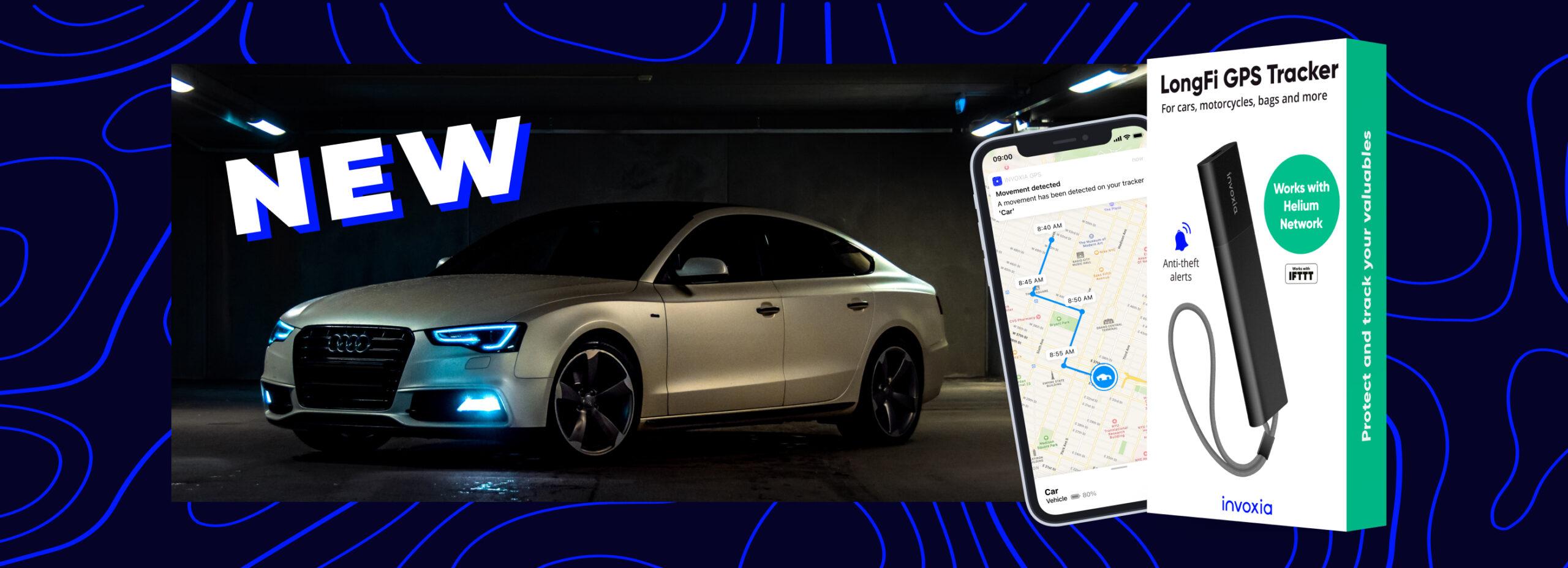Invoxia LongFi GPS Tracker– New in the U.S.A.
