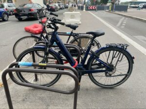Le vélo électrique retrouvé, avec un nouvel antivol